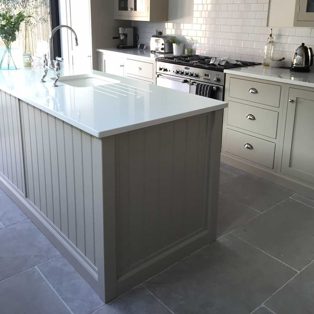 Kitchen Floor Tiles Pictures Limestone Is Proving More And More Popular For A Stone Kitchen Floor