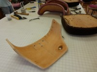 Upholstery tear-down: curved plywood chair back - Living ...
