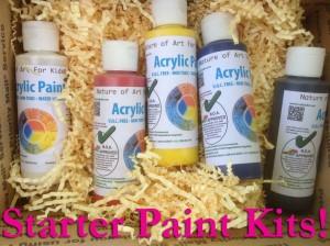 Quality Art Supplies Kids Non-Toxic, acrylic safe paint