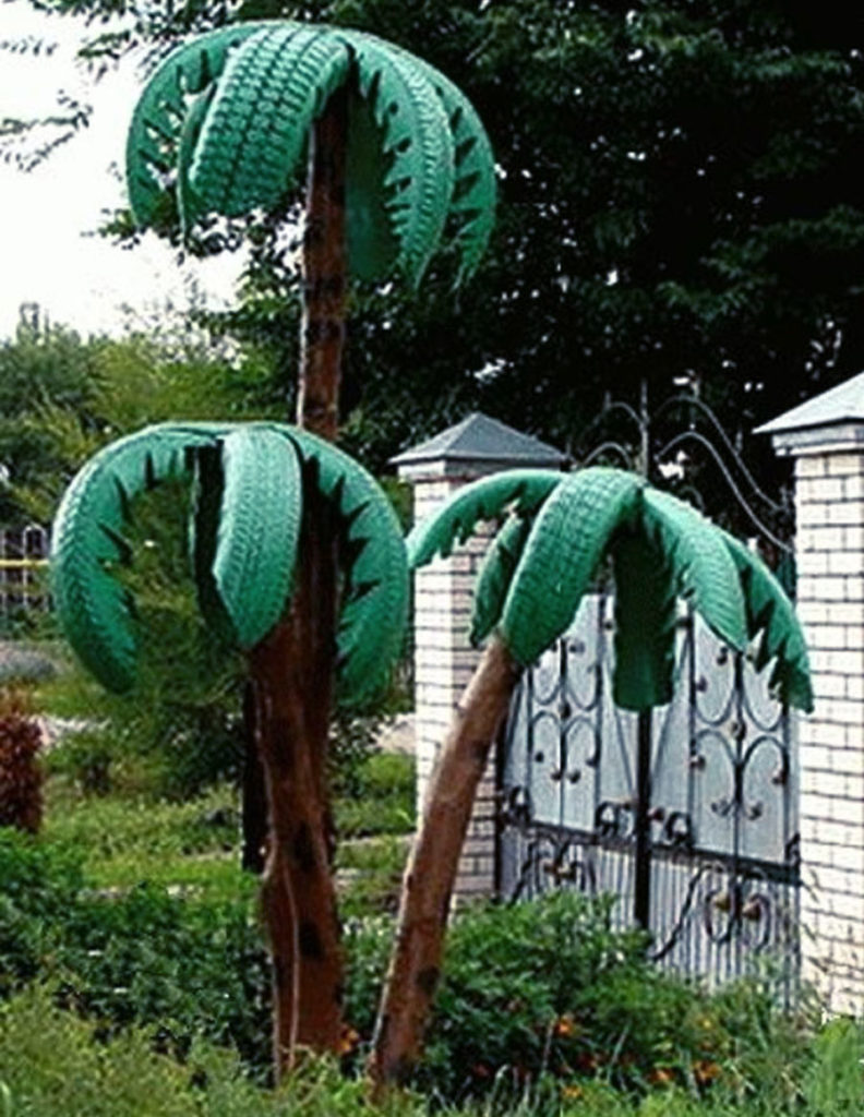 Old Tires Garden How To Make Tire Garden Diy Projects