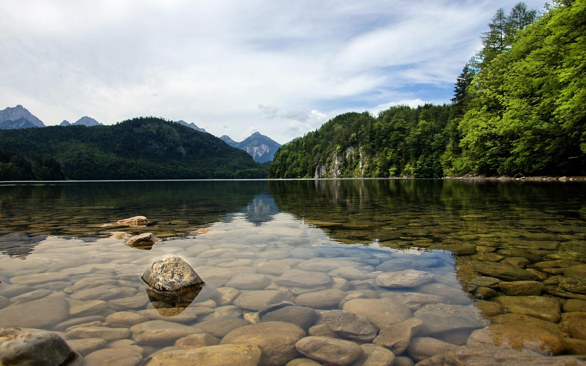 Clear Hd Lake Desktop Wallpaper | Nature HD wallpapers