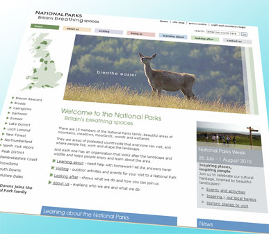 National Parks website