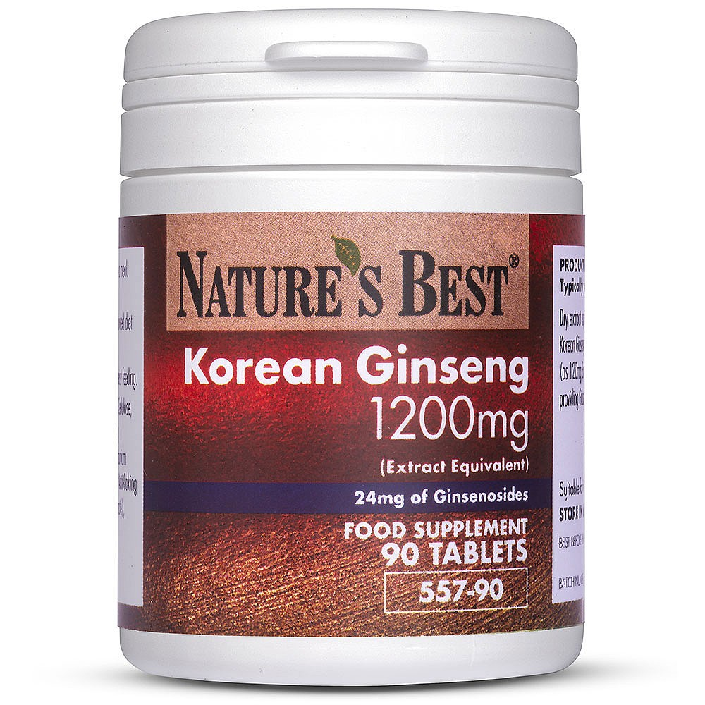 Ginseng In Deutschland Korean Ginseng Extract Tablets Ginsenosides Nature S Best