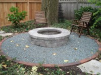A Built-in Fire Pit: Styles, Options and Tips - Nature's ...