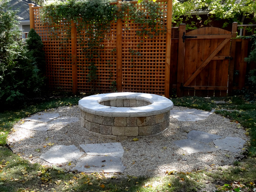 A Built In Fire Pit Styles Options And Tips Nature39s Perspective Landscaping