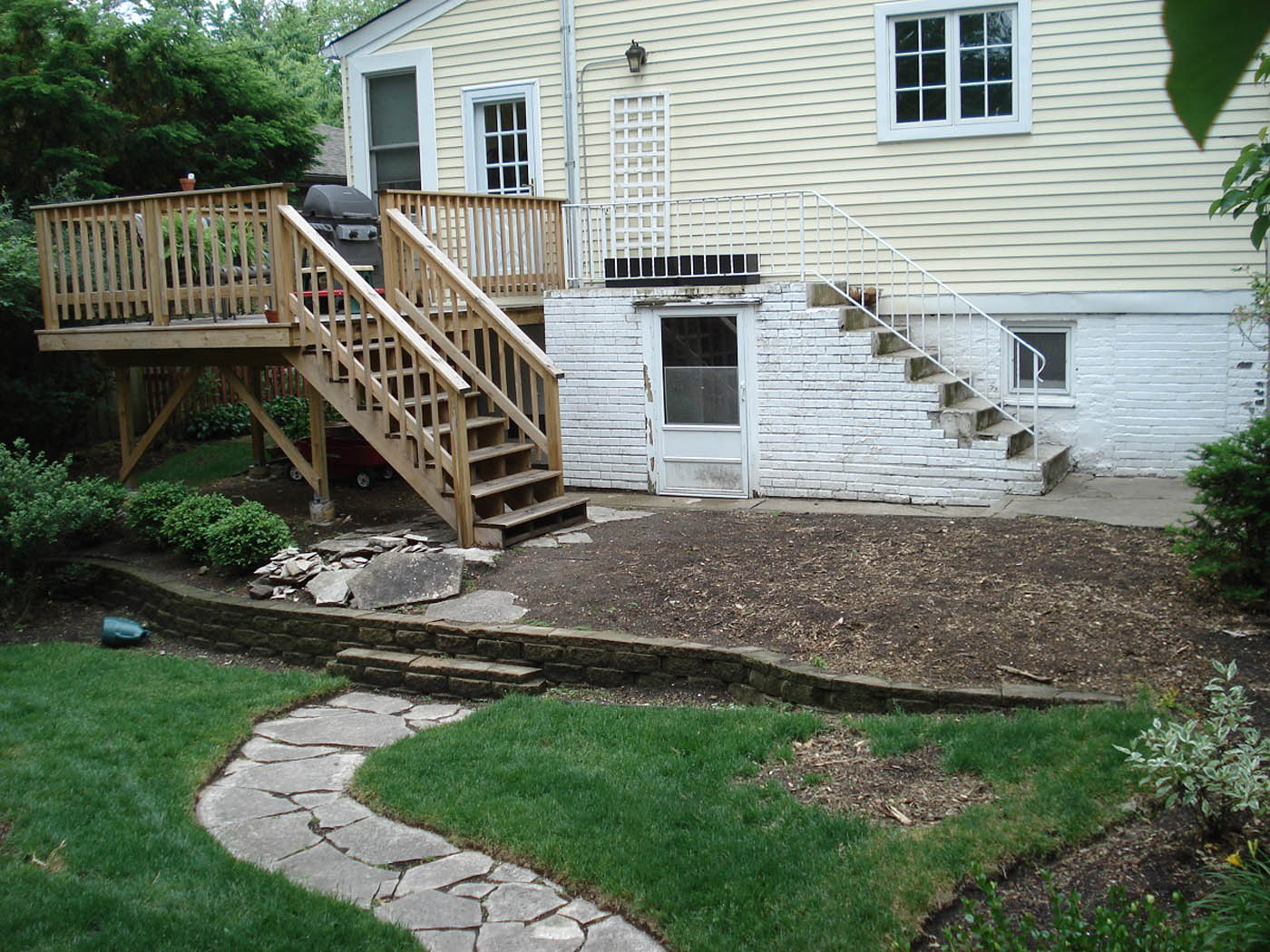 Special Back To All Case Studies Case On Same Level Perspective Landscaping How To Level A Yard Sand Drainage How To Level A Yard houzz-02 How To Level A Yard