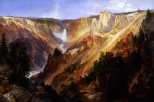 'The Grand Canyon of The Yellowstone' by Thomas Moran