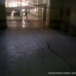 hallway of civil hospital khanewal