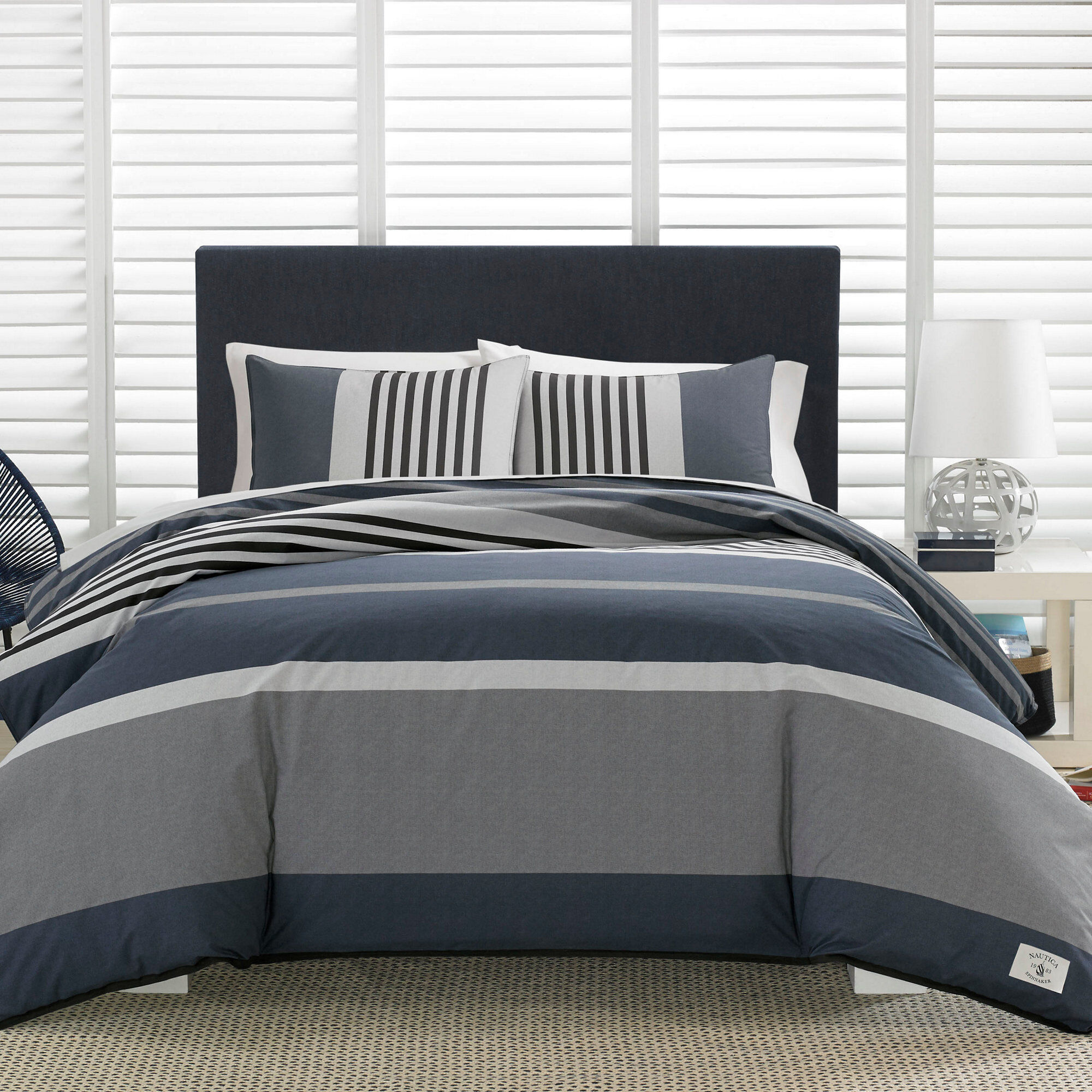 Duvet And Comforter Sets Rendon Charcoal Comforter Set