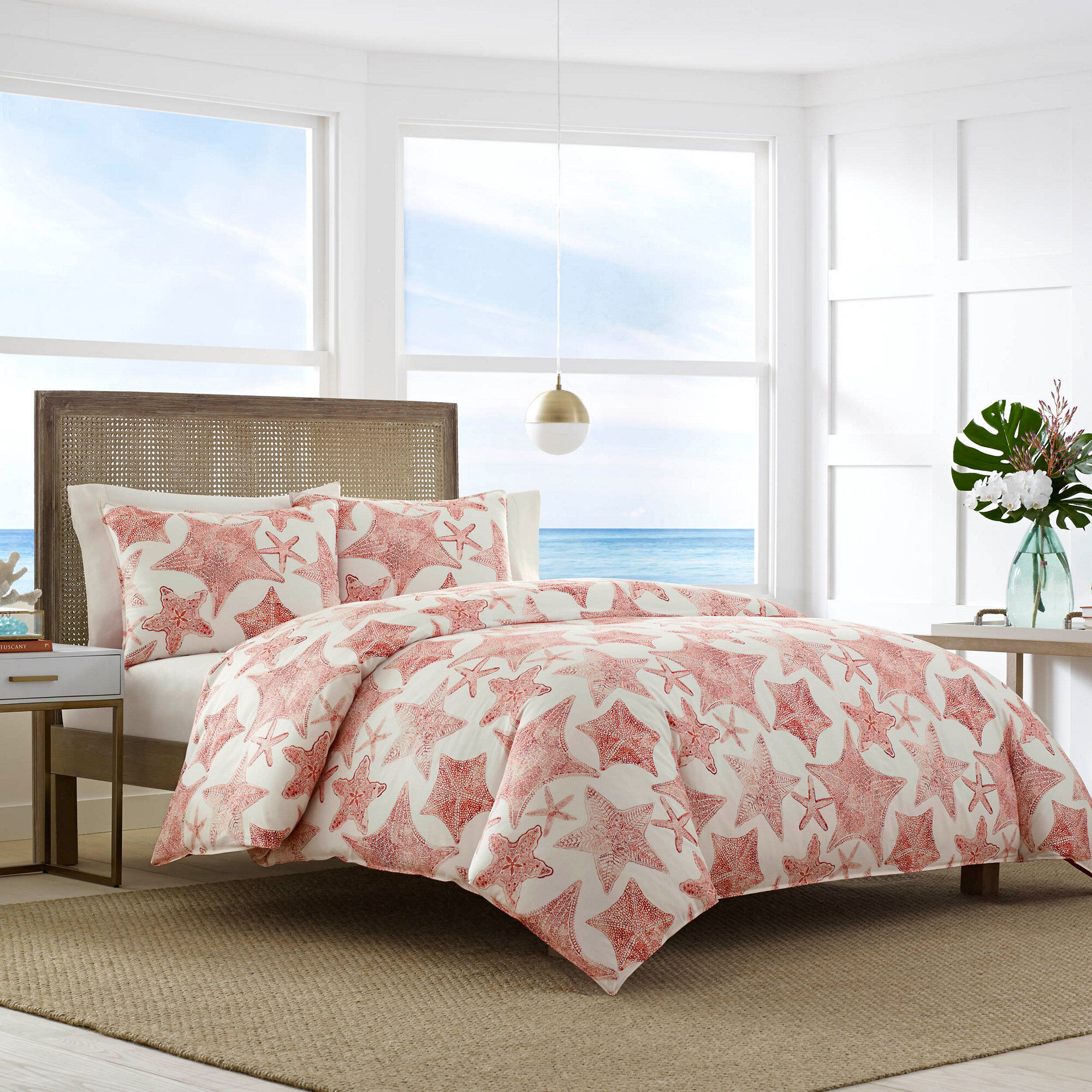 Duvet And Comforter Sets Ripple Coral Comforter Set