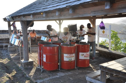 Steel drums fort shirley