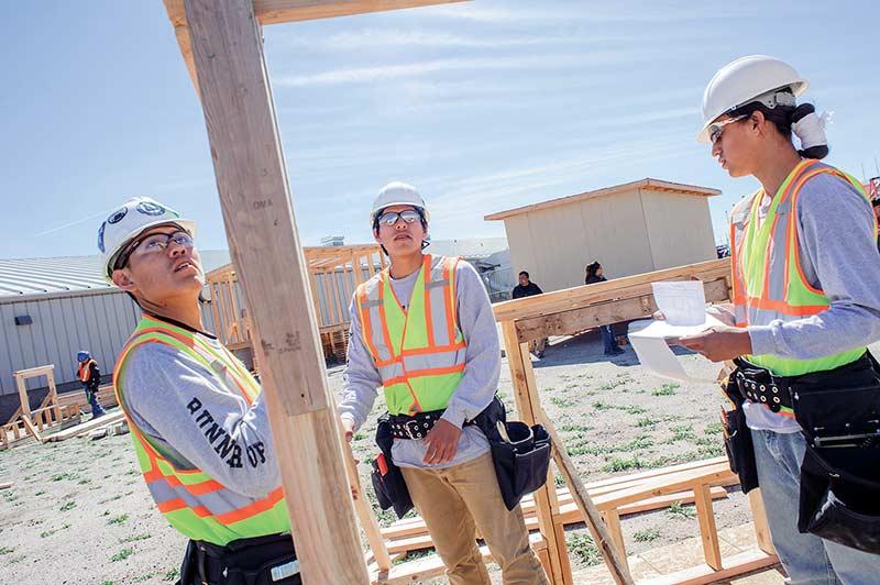 Students test knowledge, job-finding skills - Navajo Times