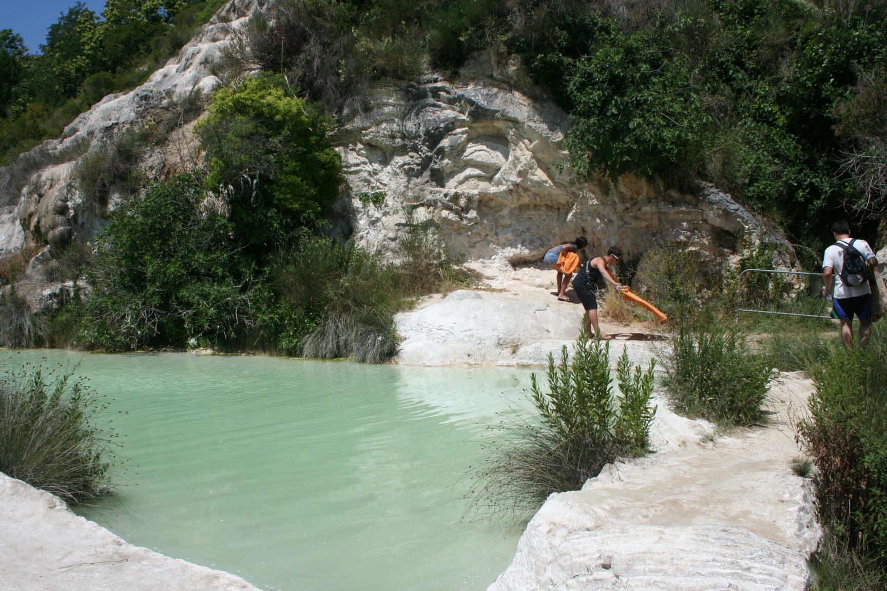 Bagno Vignoni Free Thermal Baths Bagno Vignoni Ancient Natural Spa Navigating Vita