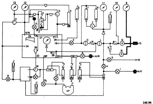 pressure switch schematic symbol
