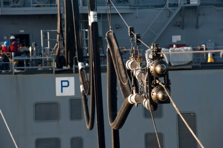 Us Navy Underway Refueling