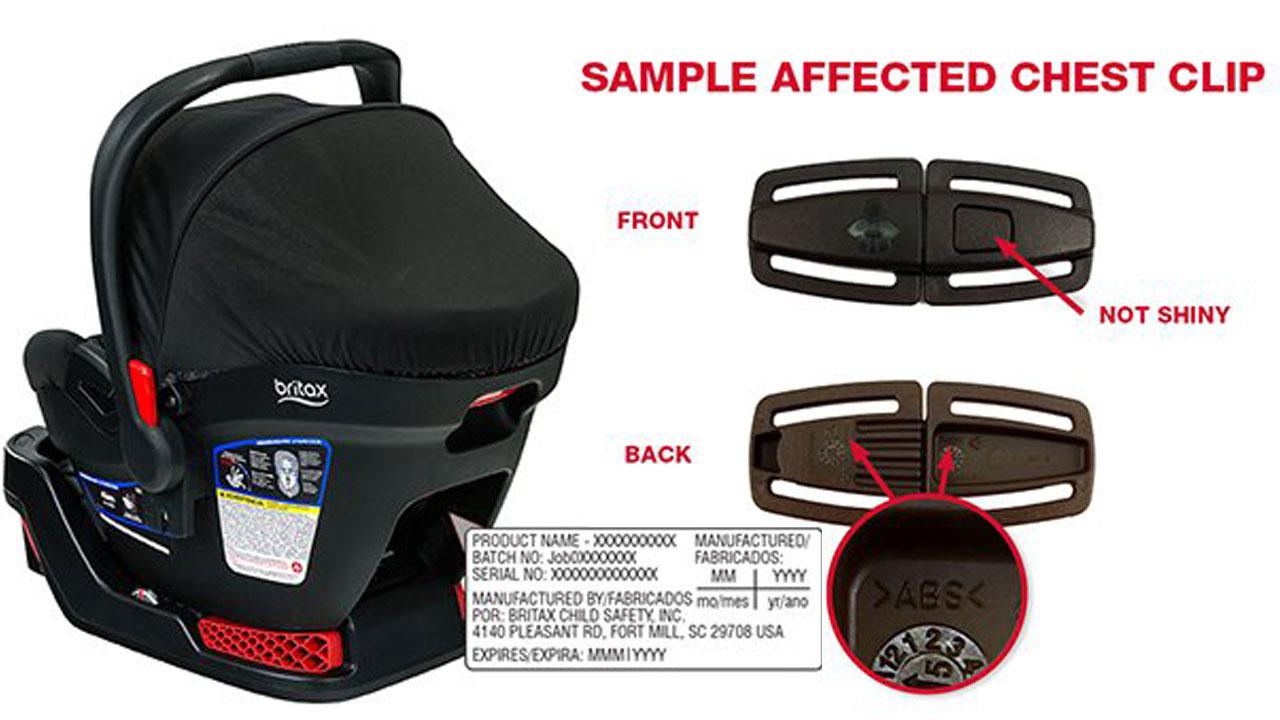 Britax Car Seat Chest Clip