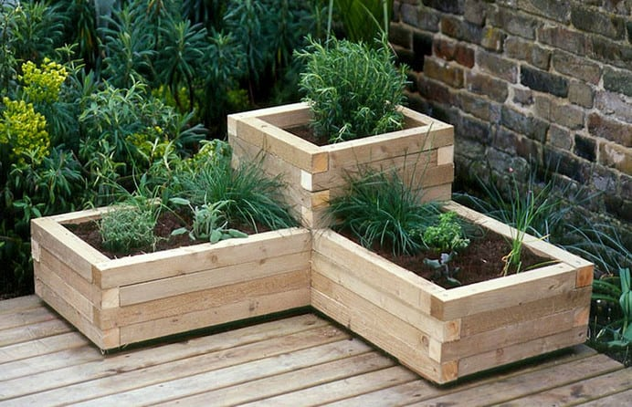 wood clean easy wooden planter boxes for sale australia