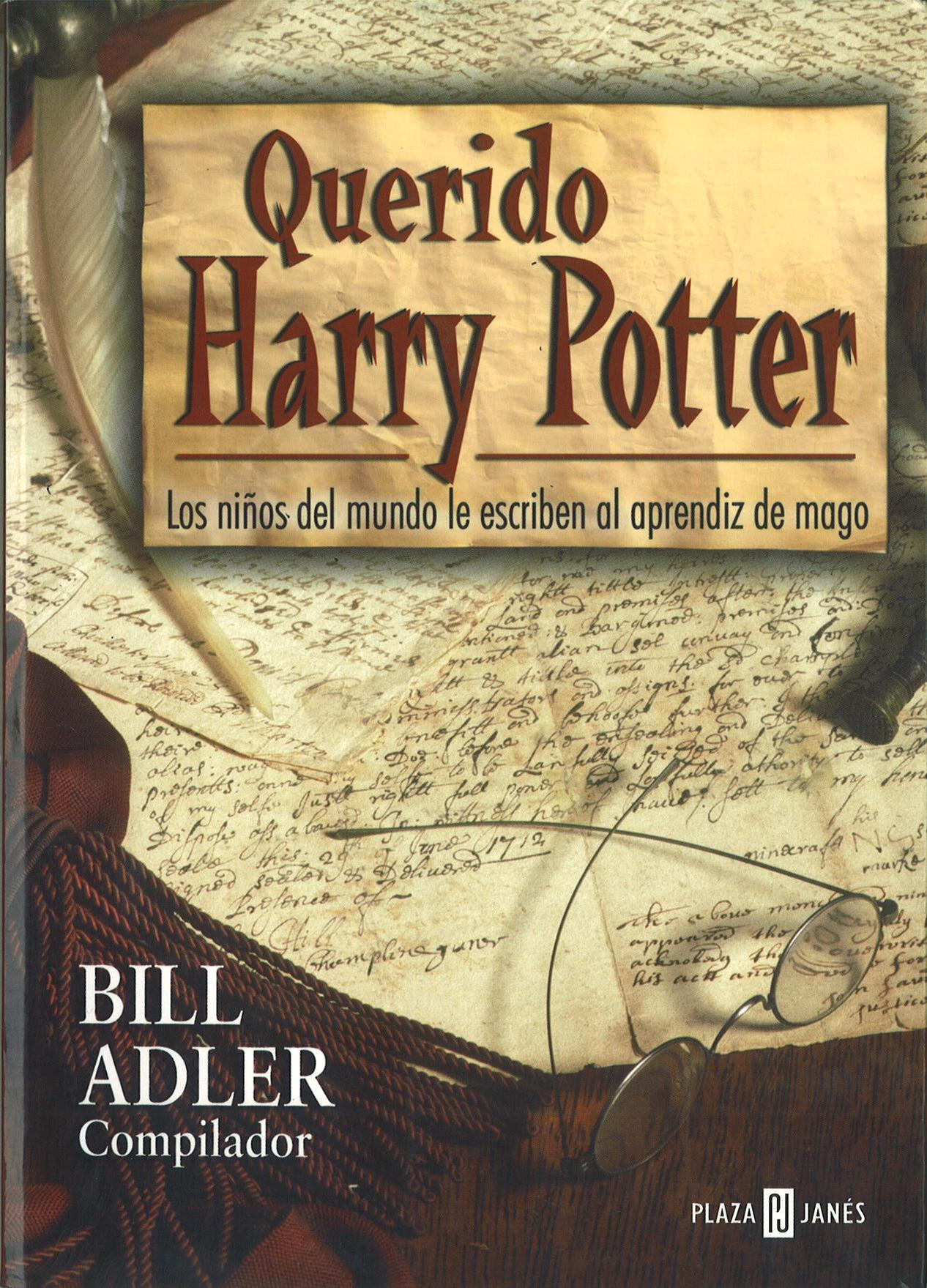 Harry Potter Libro 1 Recomendación Literaria Querido Harry Potter Bill