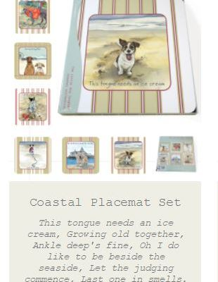 coastal placemats set