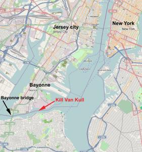 Map of Bayonne