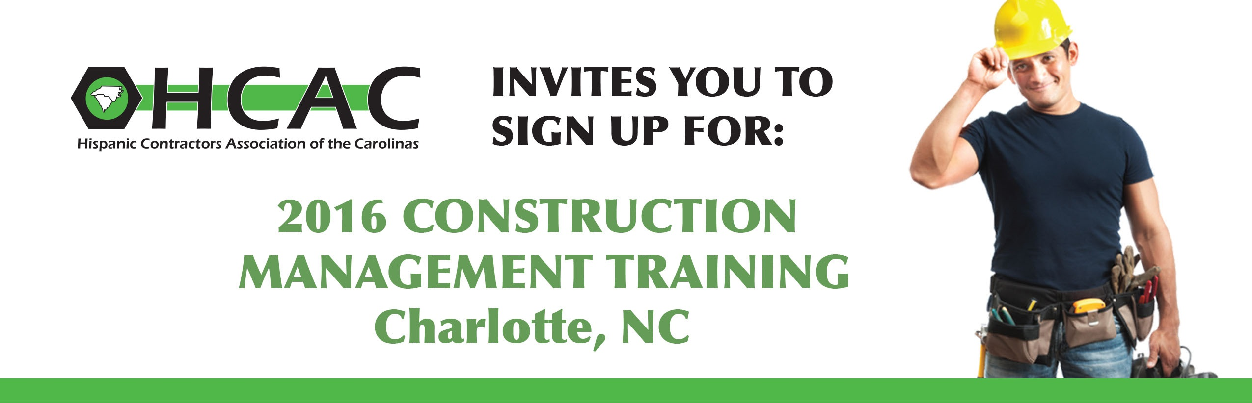 Construction Management Hcac Plans Construction Management Training Program With