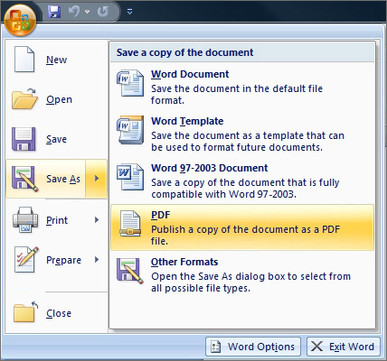 PDF Conversion - Convert File To Pdf