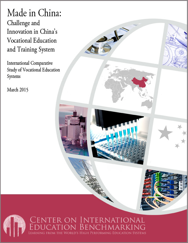 NCEE Made in China Challenge and Innovation in China\u0027s Vocation - vocational development stages