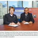 Financial institutions, Ontario academics and technology start-ups to become partners in innovation