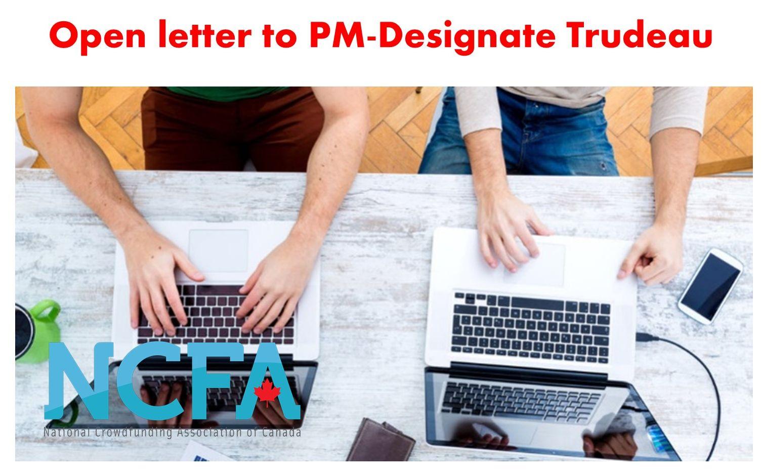 Open letter to PM-designate Trudeau