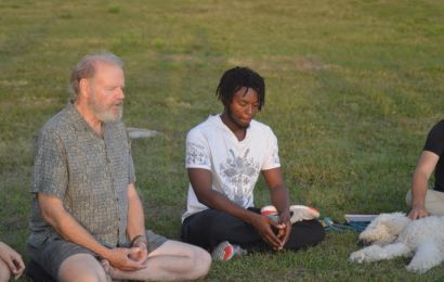 The delightful discovery of meditative culture by a new New College student