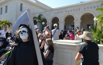 "Protestors ""die-in"" at Buchanan and AHCA protest in Sarasota"