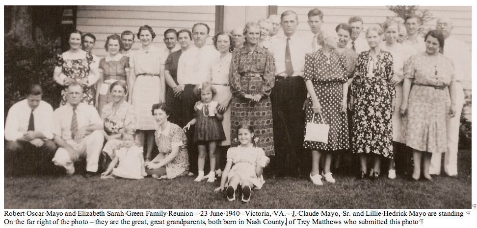 Tax Records Reunion Photos – Nash County, Ncgenweb
