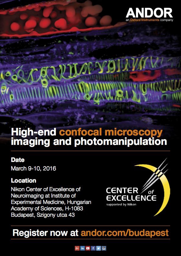 Andor-High-end confocal microscopy imaging and photomanipulation