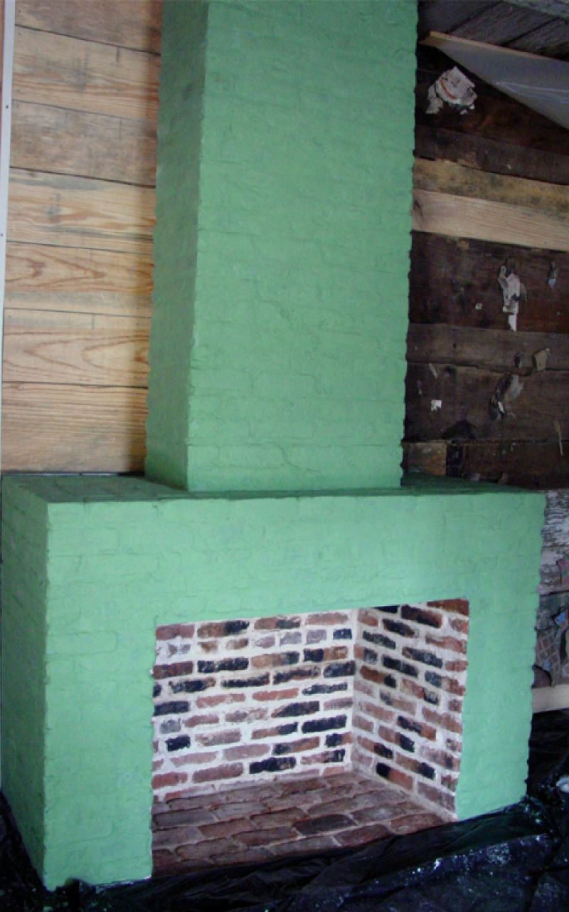 Lime Wash Brick Fireplace Ncptt Study On The Durability Of Traditional And Modified