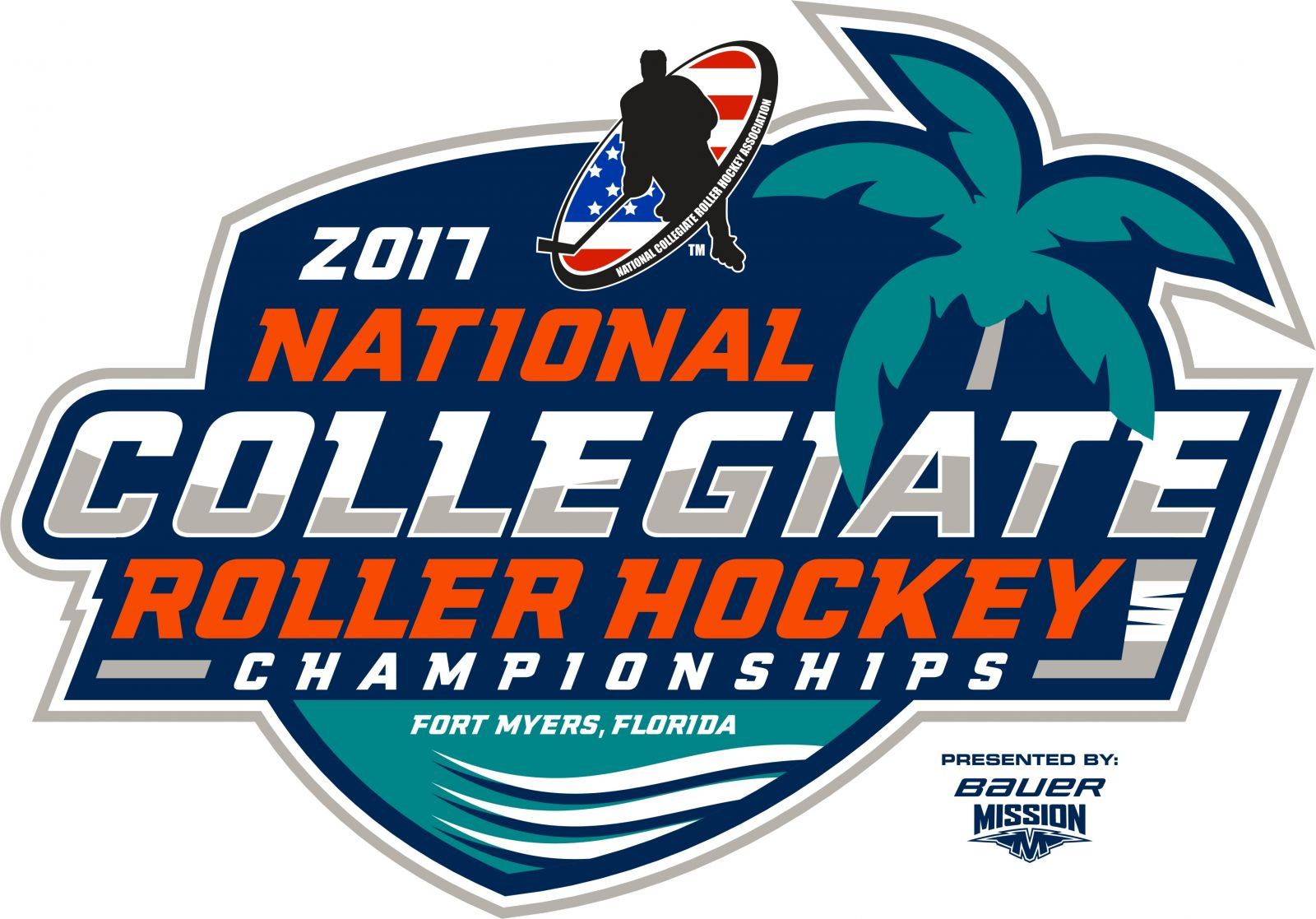 Hockey Logos Page National Collegiate Roller Hockey Association
