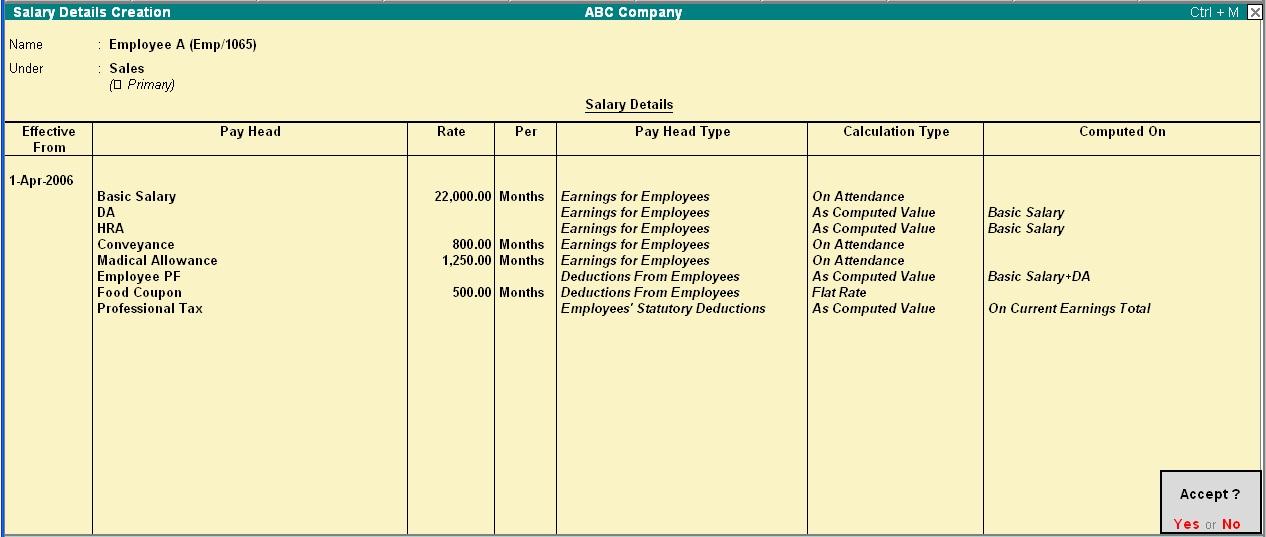salary record format - Tomadaretodonate