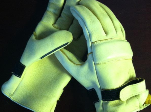 Competition Elkskin Roper Gloves