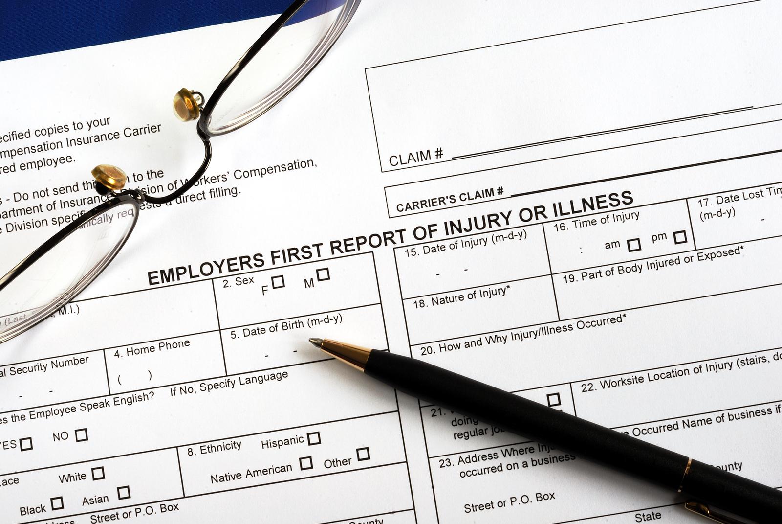 Faq Workers Compensation Turley Redmond Rosasco Claim Form Oxford Health Claim Form