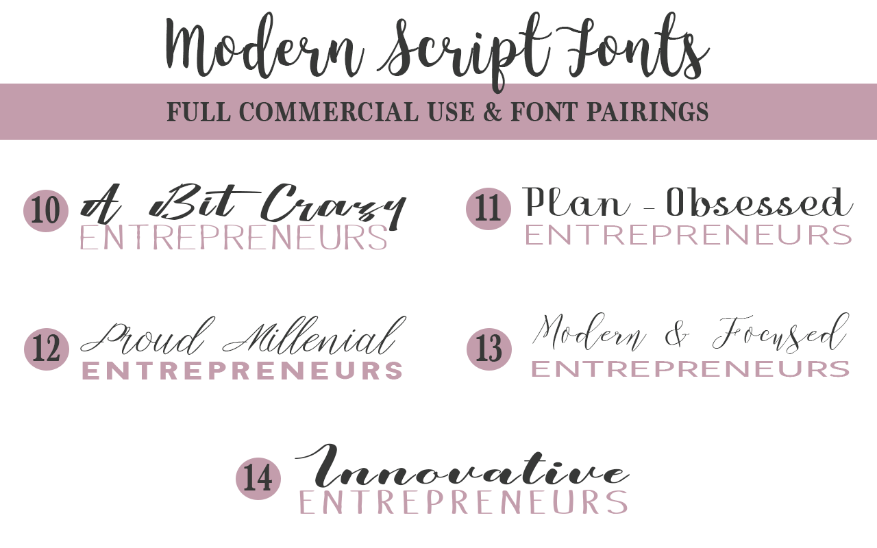 Calligraphy Font Modern Free Gorgeous Free Commercial Use Script Fonts And Pairings Nd