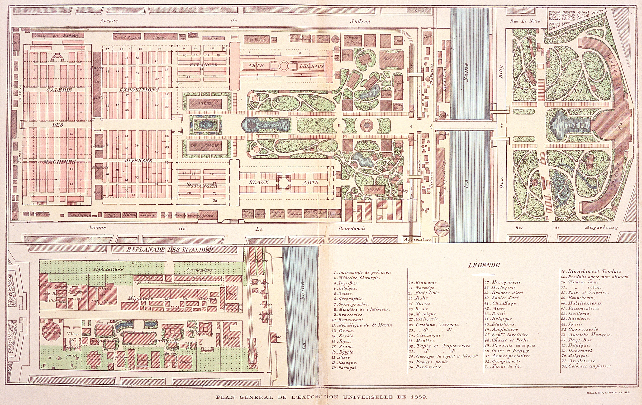 Overall Venue Plan Larger Image Expositions Where The Modern Technology Of The Times Was Exhibited