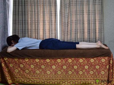 腰の痛みテスト-FNS1