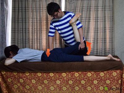 腰の痛みテスト-FNS2