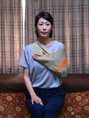 三角巾-巻き方9