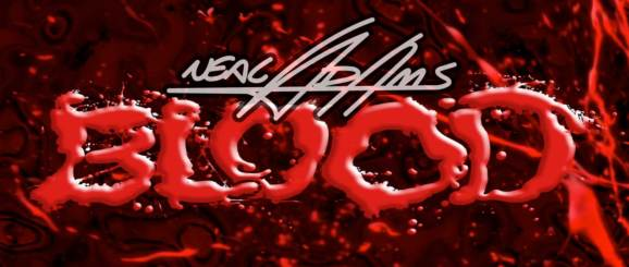 Neal Adams - Blood - Splatter Logo