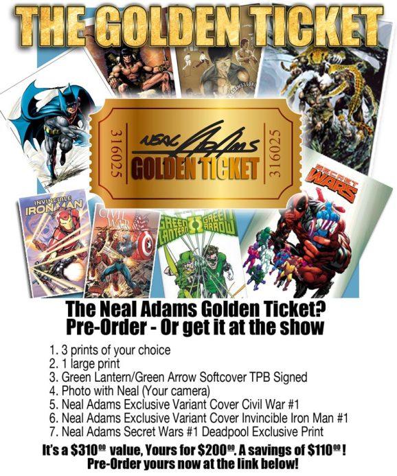Neal Adams Golden Ticket