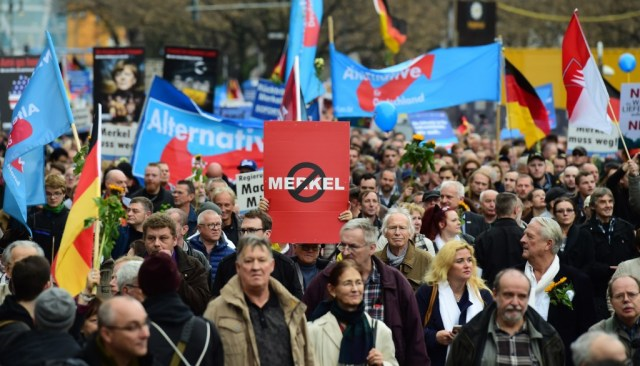 Anti-Merkel-Demonstration