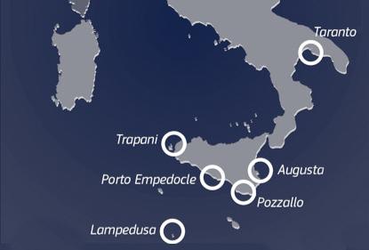 Italian refugee hotspots