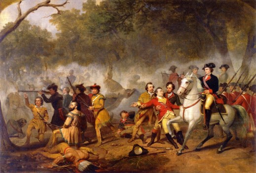 Washington as Captain in the French and Indian War by Junius Brutus Stearns