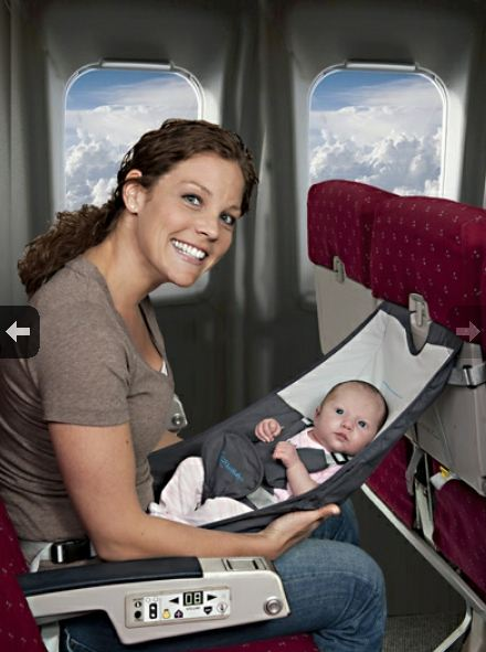 Infant Seat Air India An Infant Hammock Built For Air Travel Neatorama