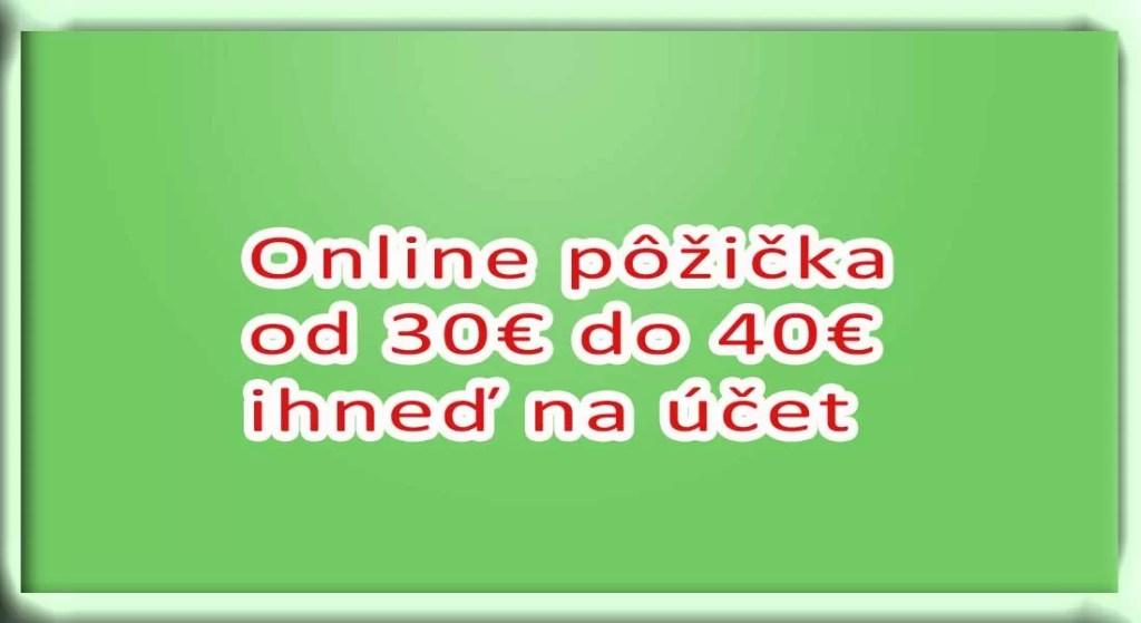 Online pujcka pred výplatou svitavy jídelna image 2